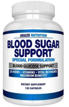 Arazo Nutrition Blood Sugar Support