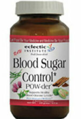 eclectic blood sugar support powder