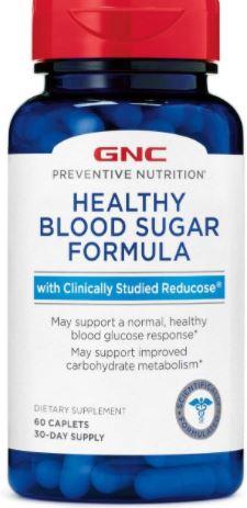 GNC Preventive Nutrition Healthy Blood Sugar Formula