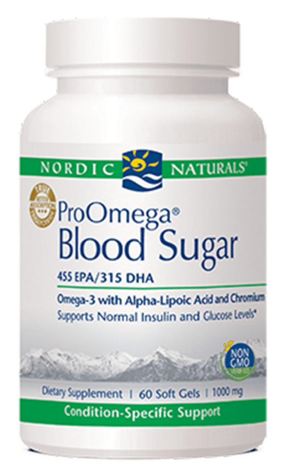 pro omega blood sugar