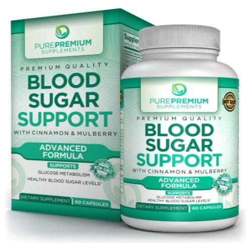 pure premium blood sugar support