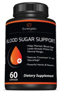 Sunergetic Blood Sugar Support
